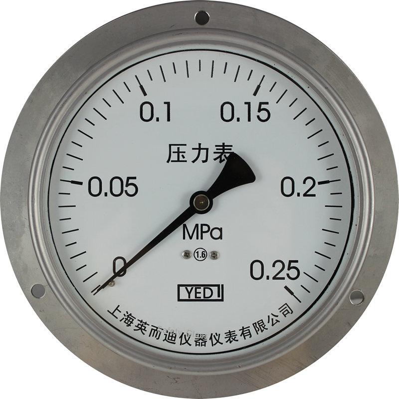 面板安装压力表