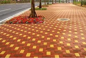 新材料透水砖的生产技术及发展前景!