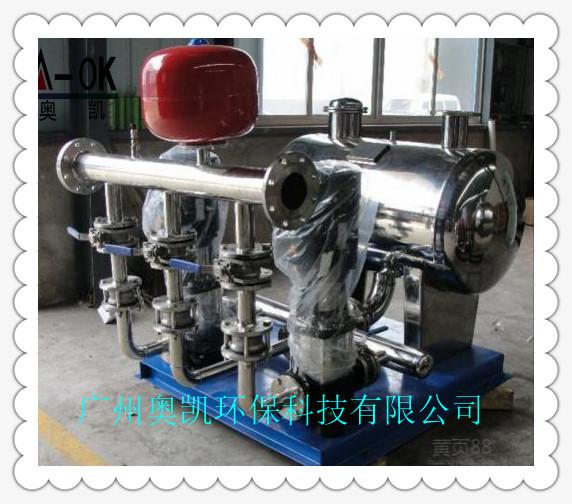 变频无负压供水设备的工作过程