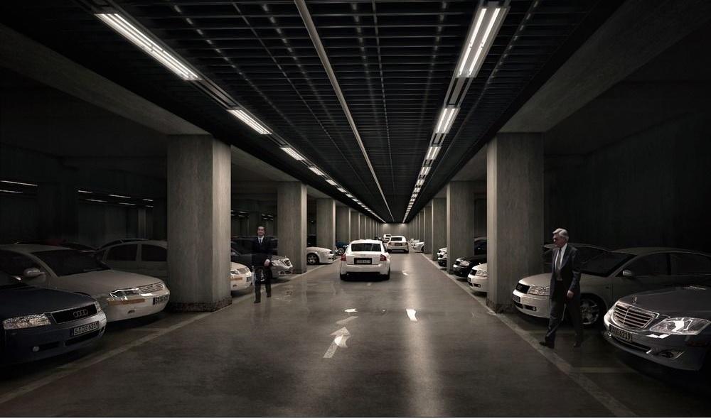 地下车库/停车场一键报警呼叫对讲