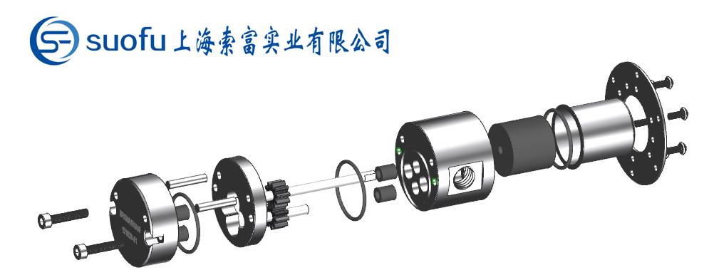 微型水泵产品说明——NP系列微型磁力齿轮泵