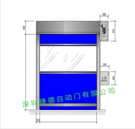 深圳快速卷帘门的构成有哪些