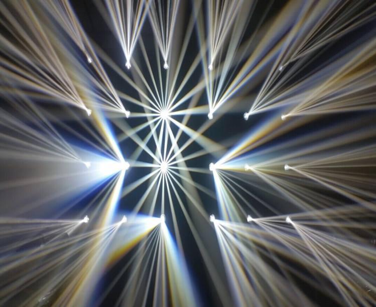 光束灯的主要工作原理