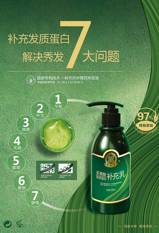 多果酸发质蛋白补充乳,拯救精英的秀发-源生堂养发加盟