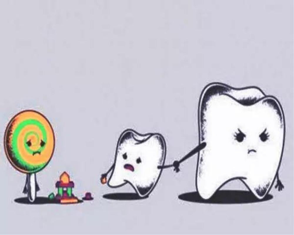 好医生牙膏告诉你牙齿上的小黑点到底是什么?