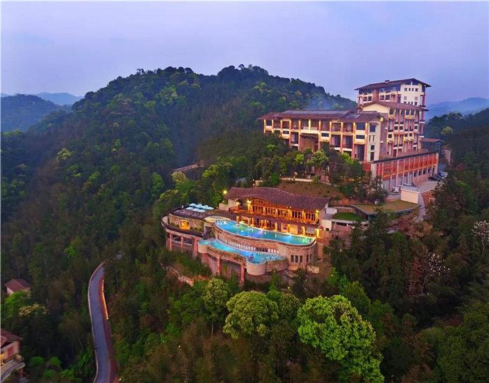 不愧是全球生态度假村50强,惠州南昆山十字水度假村别墅,美翻了