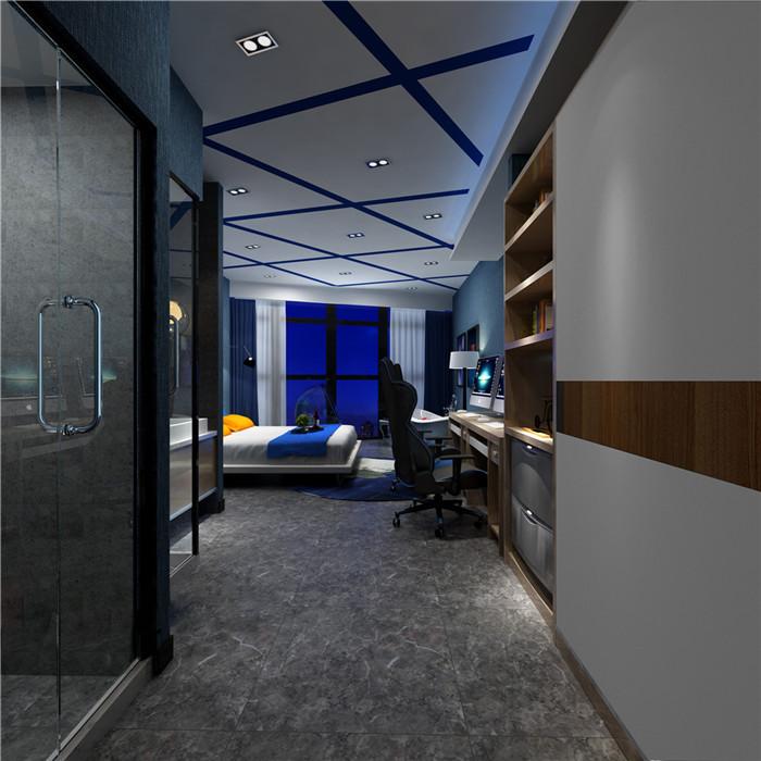 郑州电竞酒店装修设计工程 河南郑州主题酒店装修设计公司