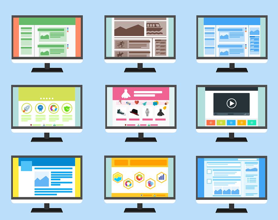 网站开发主要有哪几种类型?