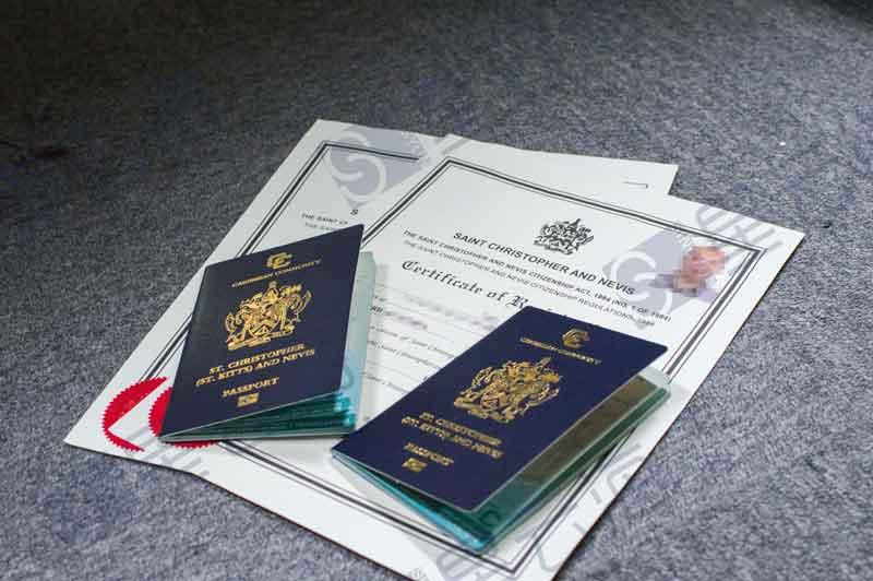 深圳投资移民找星云海!又一组客户喜获圣基茨·尼维斯护照!