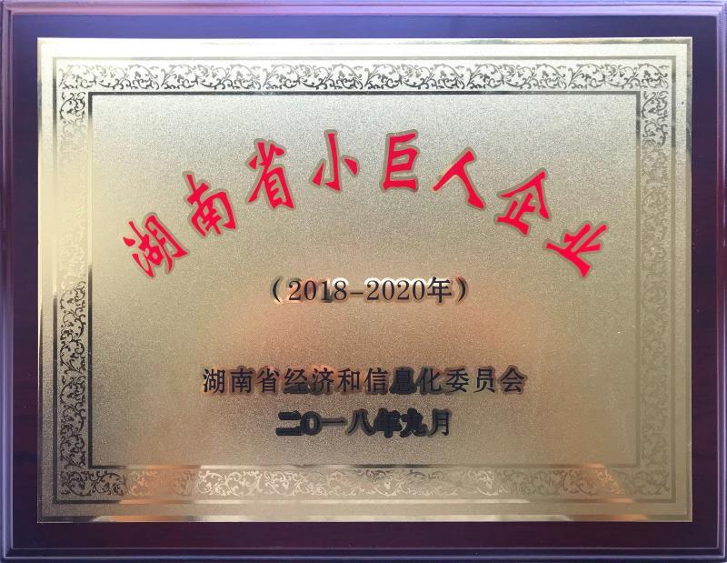 """金彩螺涂料被认定为湖南省""""小巨人""""企业"""