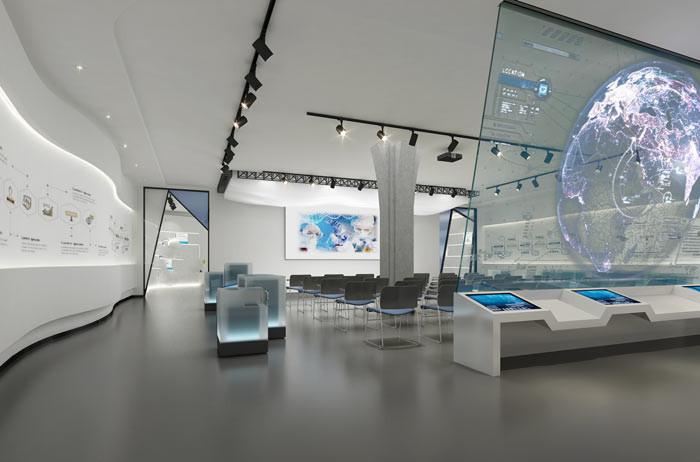 医药公司办公室设计实景 郑州简约办公室装修设计 办公室装修公司