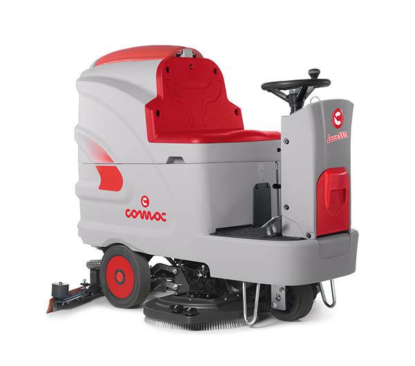 洗地机让地面清洗更高效