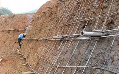 边坡防护网施工原理及技术用途步骤