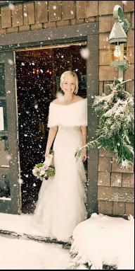 纯粹而热烈  冰雪见证只属于我们的婚礼