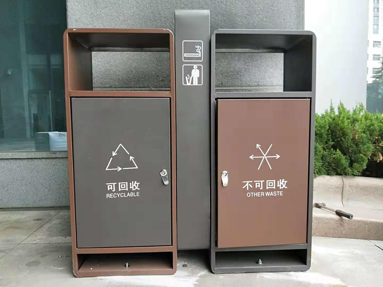 室外垃圾桶都有哪些种类?