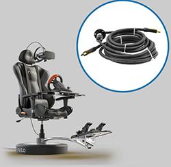 滑环与VR游戏座椅相结合,掀起Roto VR热!
