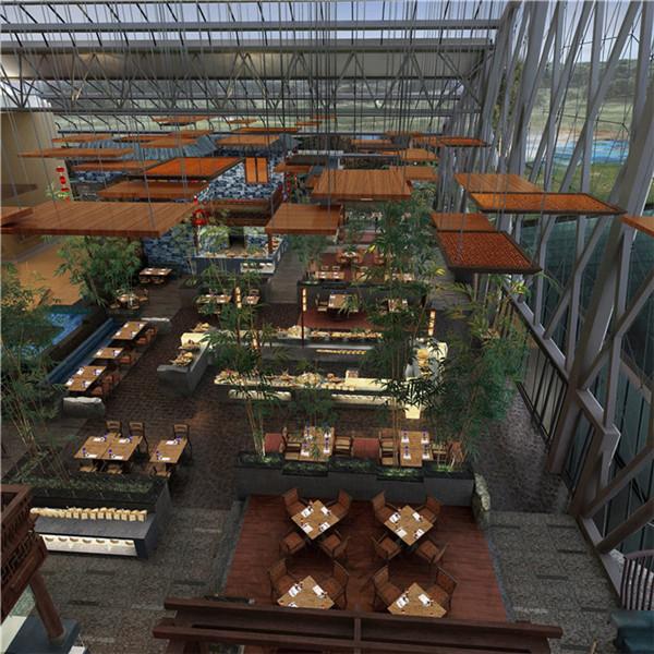 中式餐厅设计四大原则 大唐宴会酒店餐厅装修 郑州酒店餐厅装修