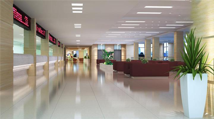 郑州医院装修公司 华美妇幼医院装修设计方案 河南医院装修设计