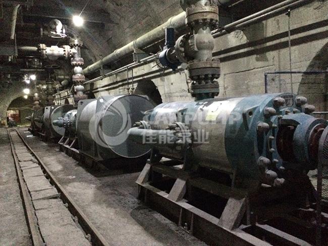 矿山排水设备选择方案