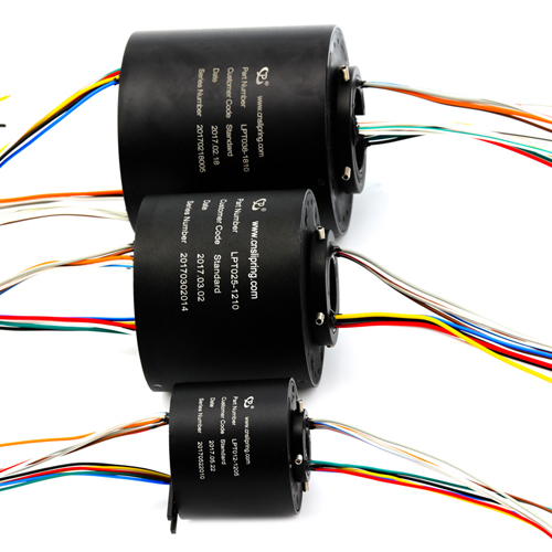 晶沛空心轴导电滑环在三轴陀螺仪测试台上的应用