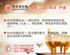 武汉企业积极参与信用评级,提升企业诚实守信形象