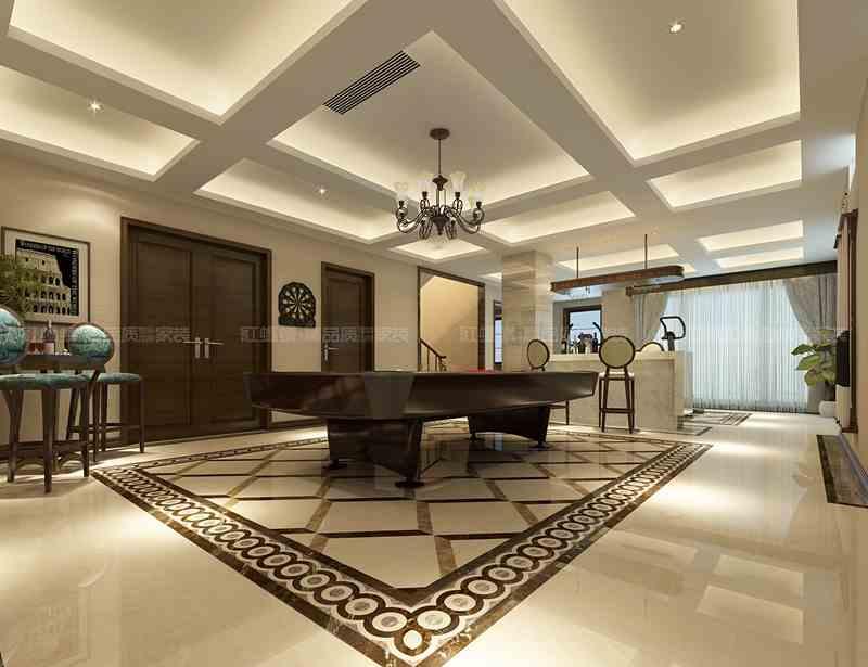 苏州别墅效果图-江苏红蚂蚁装饰设计工程有限公司