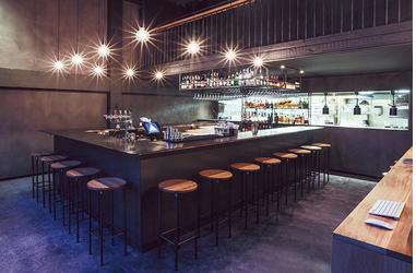 东南亚风格餐厅装修效果图 餐厅是开敞的空间格局,融合北欧简约设计
