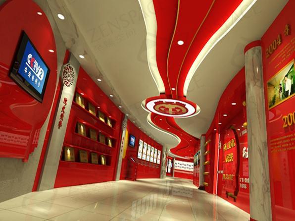 武汉至臻空间展览在企业展厅和展厅设计,展览搭建方面有丰富的经验图片