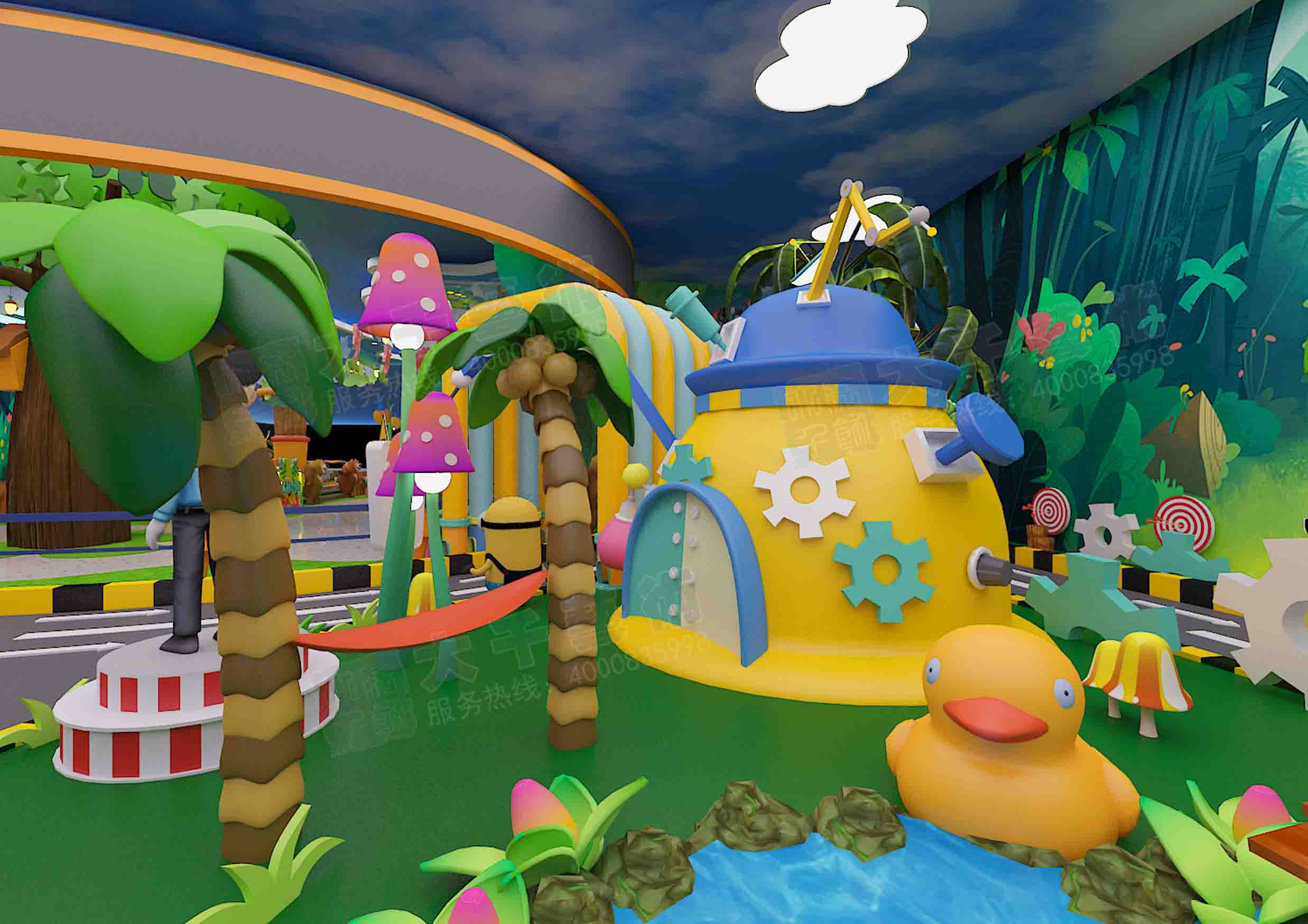 大千艺术十分注重主题儿童乐园设计核心技术的积累,公司主题儿童乐园