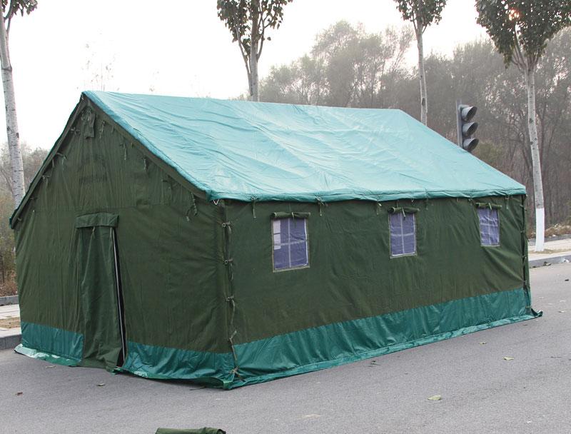 帐篷收叠方法图解