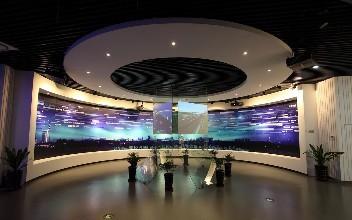 智慧城市展厅设计-深圳液晶拼接屏图片