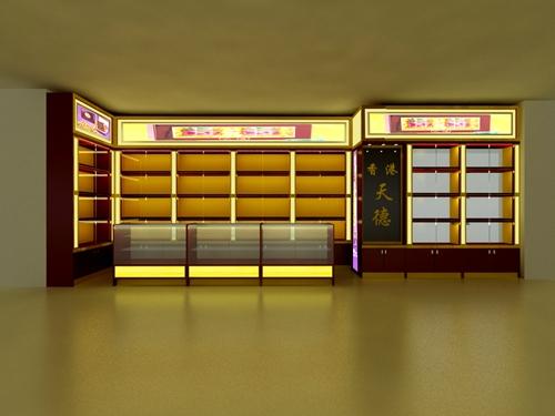 最知名的天津店面设计展柜制作,建筑装饰