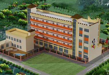 广东幼儿园装修产品设计生产加盟就找云磊艺术