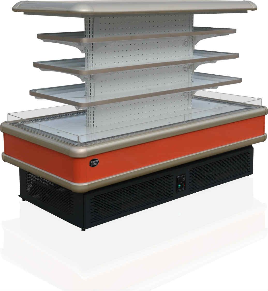 齐美电器专注于冷冻柜定制,中国风幕柜的专家
