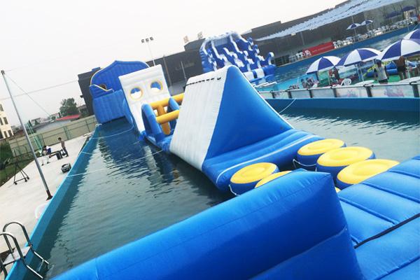 支架水池,支架游泳池,支架泳池,移动游泳池,养殖水池