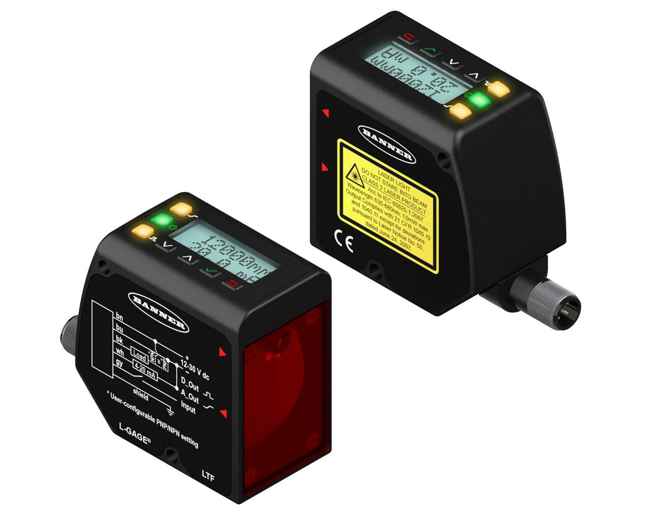 泓川专业生产高精度激光位移传感器