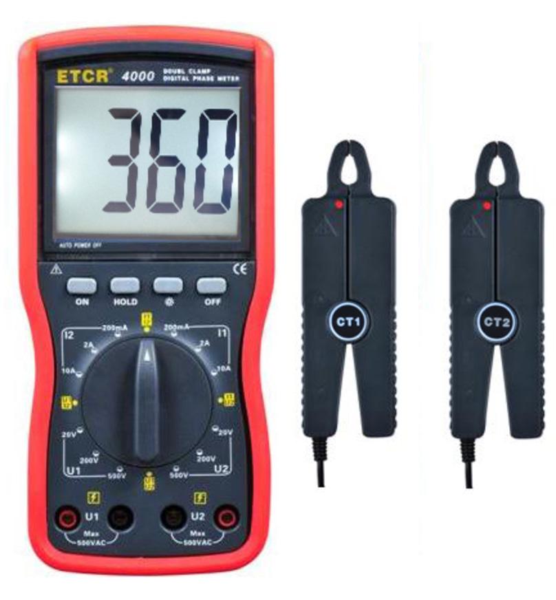 传统的相序测量方法必须将三相电线的接线柱拨开,将相序表的三个裸露