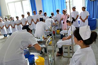 图图教育合肥卫校,合肥护士专业学校教育培训行业的佼佼