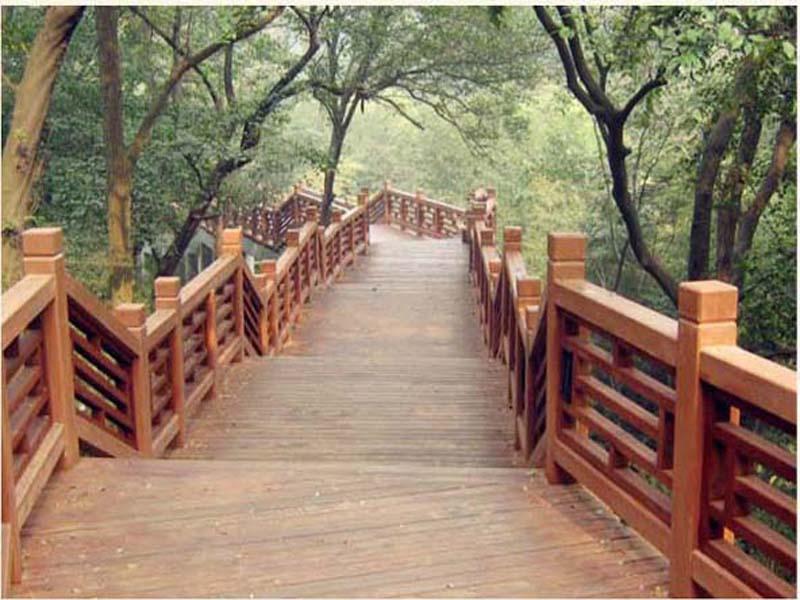 多种仿木纹_哪里有靠谱的仿木纹钢筋混凝土栏杆供应商