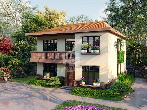 农村二层别墅设计