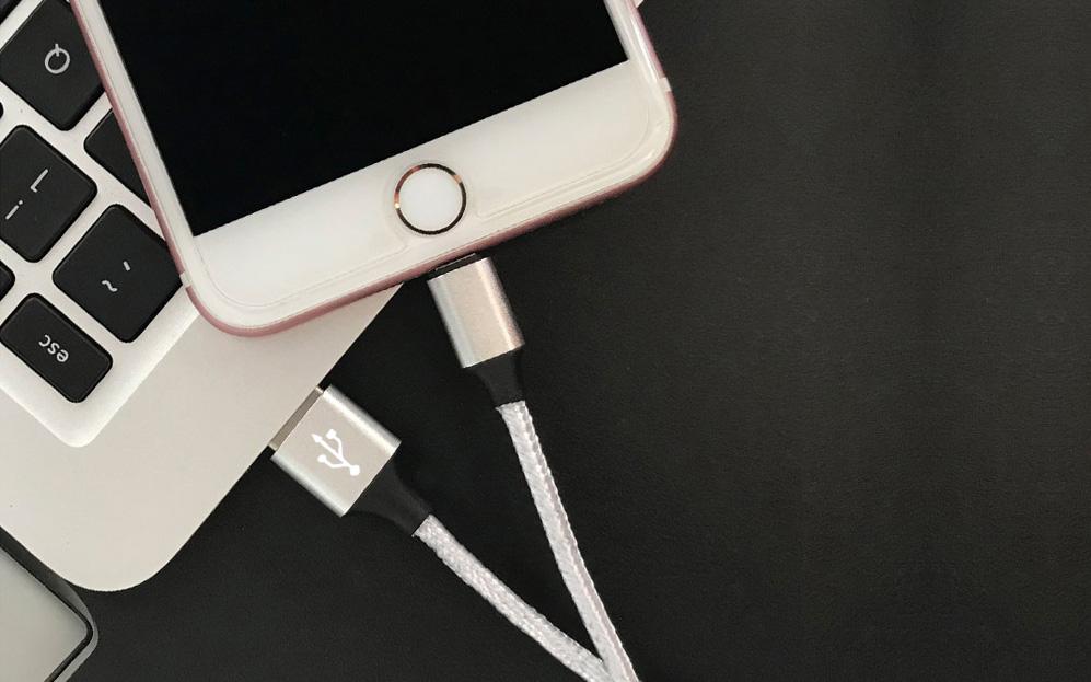 卓连提供专业的苹果iphone8手机数据线尼龙编织充电线产品