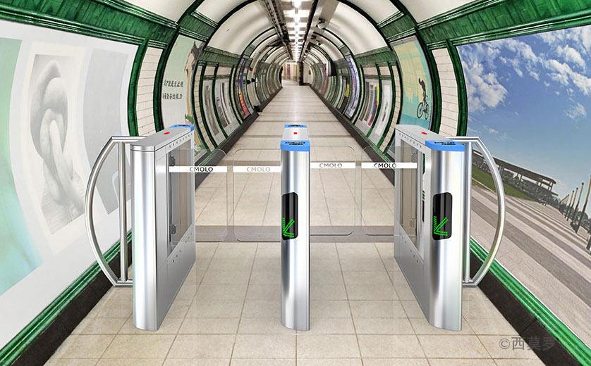 西莫罗专业生产地铁摆闸自动检票机