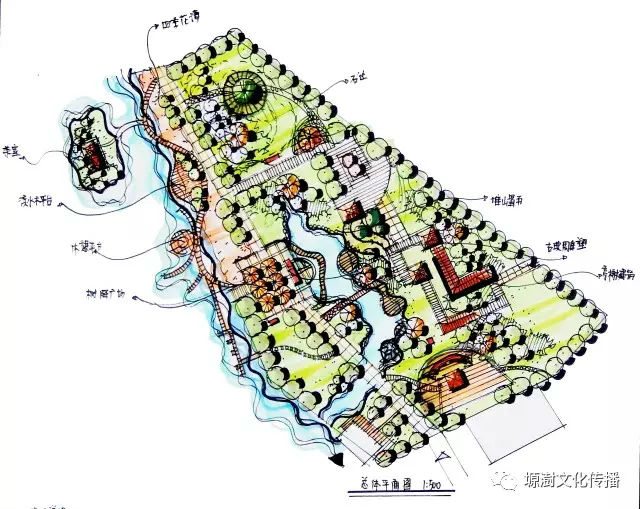 风景园林快题设计精益求精,铸造品质的典范