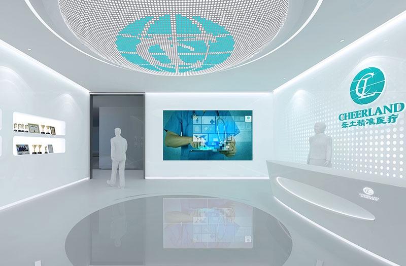 天际云数字承接展览厅业务
