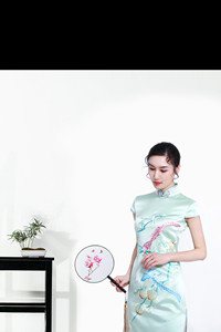 祎旗袍专业生产旗袍定制