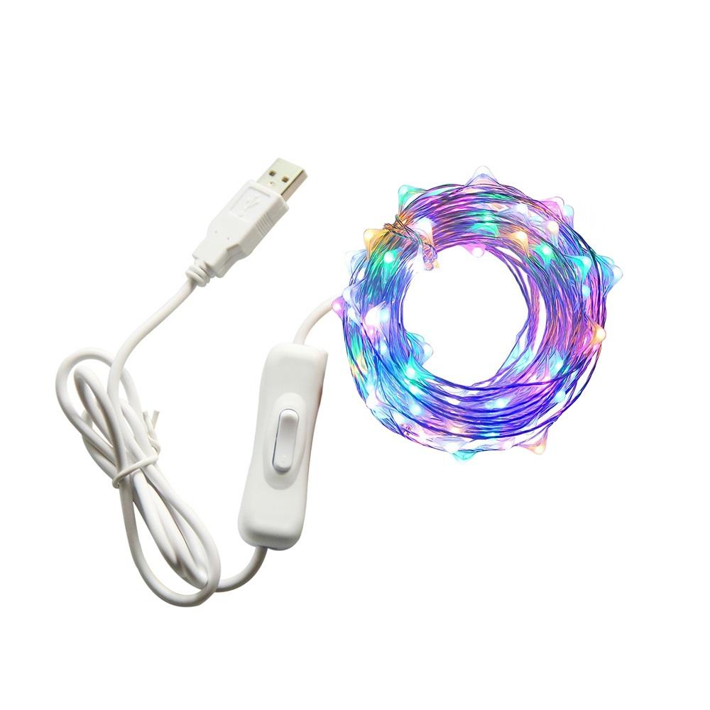 LED铜线灯串批发销售价格