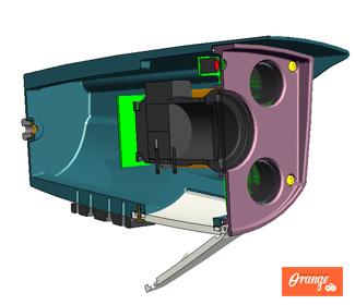 橙子工业设计提供产品设计业务