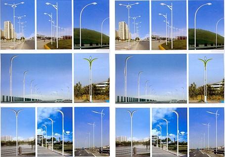 四通提供专业的路灯杆设备服务