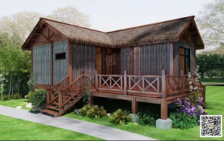 木屋设计定制的使用注意事项认准伊园木品牌