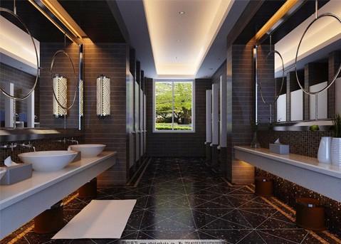 公共厕所隔断材料设计定制